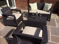 KETER CORFU LOUNGE SET BRAND NEW IN BOX!!! LOCAL DELIVERY POSSIBLE!!! BARGAIN!!!!!!!