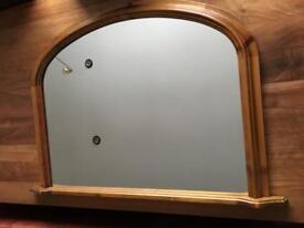 John Lewis mirror solid wood
