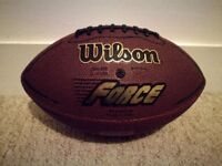 American Football, Wilson, Official Size NFL Force Ball