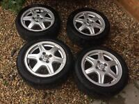 Vw golf/polo etc alloy wheels and tyres