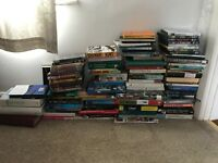 Job lot 70+ books and a few dvds