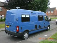 2009 Renault Master 2.5 DCI Mobile Home, 3 berth, 6 speed.