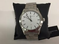 ( New and boxed ) French Connection FCUK SFC109SM Quartz Watch with Stainless Steel Bracelet