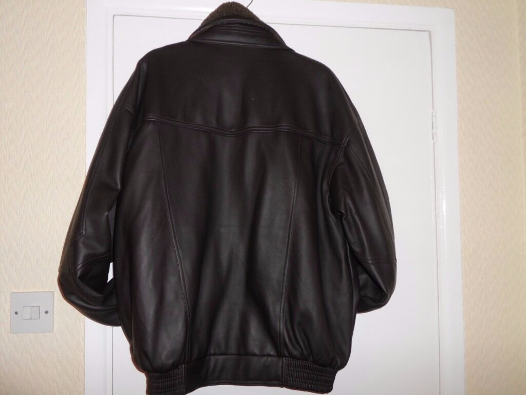 Leather jacket xl size - Mans New Faux Leather Jacket X L Size In Watford Hertfordshire Gumtree