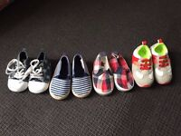 Baby first shoes bundle - 3-9 months-unworn