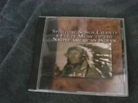 SCARCE CD COLLECTION OF NATIVE AMERICAN SONGS