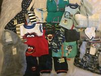 NEW boys 6-9 & 9-12 months baby bundle clothes