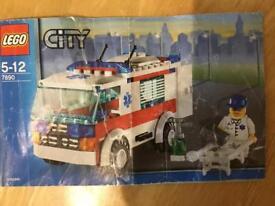 Lego City Ambulance - 7890