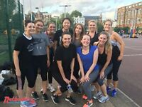 Social netball leagues running in Camden, North London