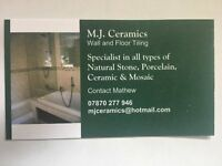 Friendly and Professional Tiler - over 20 years experience