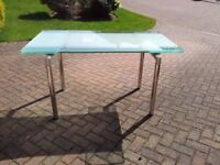 Extending glass Dining Table