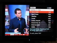 HITACHI LCD TV 19 INCH. VGC GOOD PICTURE AND SOUND. FREEVIEW. TELETEXT. EPG. HDMI. WILL SHOW WORKING