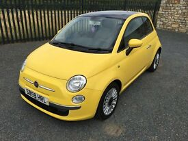 2009 59 FIAT 500 1.2 LOUNGE - PANORAMIC ROOF - STUNNING THROUGHOUT!