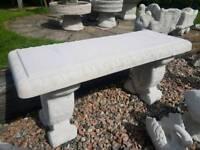 Concrete Garden Bench Seats