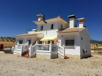 The Good Life Spanish Country House Villa 4 Bedroom 2 Bathroom 5 Acres Flat Fenced Land Murcia Spain