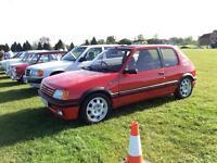 Peugeot 205 gti 1.9, 12 month MOT original restored, hpi clear