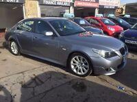 BMW 5 SERIES 3.0 530D M SPORT,FULL SERVICE HISTORY,11 MONTHS MOT,3 MONTHS WARRANTY