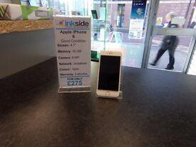 Apple iPhone 6, Locked to Vodafone