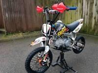 BBR rep rare alloy framed pit bike 1 off