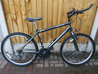 "MENS 17"" FRAME MOUNTAIN BIKE...""HAWK ATAK""...FULLY WORKING ORDER.GREAT CONDITION."