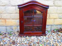 Small Glazed Display Cabinet