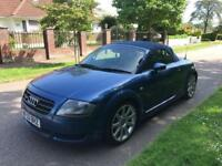 AUDI TT QUATTRO 225 CONVERTIBLE 2003 6 SPEED LONG MOT 07399829782