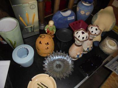 Nr. 83 Vasen Kerzenhalter Schalen Keramik Wiederverkäufer Trödel