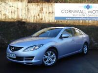 MAZDA 6 2.0 D S 5d 140 BHP NEW MOT AND SERVICE (silver) 2008