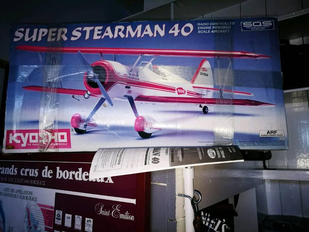 Model artf kit Biplane. Top quality complete