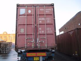 Cheap 40HQ container for rent x 2