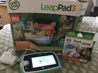 Leap Pad 3 with game