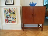 1960's Teak Sideboard TV stand Storage unit Cupboard Small Retro
