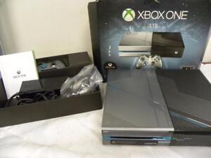 AUCTION Microsoft Xbox One 1TB Console - Limited Edition Halo 5: Guard (Used, Good) *GAME NOT INCLUDED*