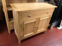 AVAILABLE TODAY New Built Scandinavian Oak Small 2 door sideboard 85x35x78cm £259