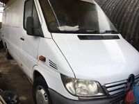 breaking MERCEDES sprinter 06