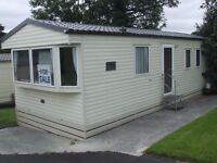 Atlas Aurora 32x12 ft brand new static caravan for sale in Forest of Pendle leisure park, Roughlee