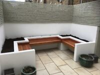 DECKINGS, FENCING, PATIOS, PAVINGS, DRIVEWAYS, TURFING, BESPOKE GARDENS