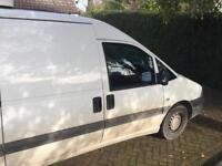 Catering refrigerated van reduced