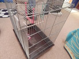 CAGE AND BIRD CARRIER.
