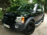 2006 LAND ROVER DISCOVERY 3 TDV6 XS DIESEL 7 SEAT AUTOMATIC 125000