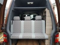 Full 3 Seat Rock And Roll Bed VW T4, T5, T6, Vivaro, Transit, Bongo FREE FITTING, DELIVERY AVAILABLE