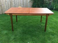 Mid-Century Retro McIntosh Teak Extending Dining Table