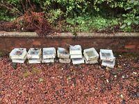 15 glass bricks used and free