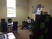 Low Cost Starter offices up to a 6-7 Person Studio in convenient location with free parking