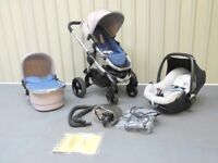 iCandy Peach 3 in AZURE !!! FULL TRAVEL SYSTEM!!