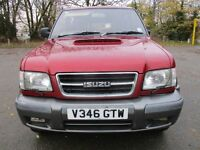 99V ISUZU TROOPER 3.0 TD CITATION 4X4 LWB FULL MOT HEATED SEATS A/C CD ALLOYS TOW BAR 93K PX SWAPS