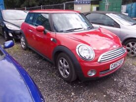 Mini Mini one 2007 BREAKING FOR SPARES PARTS