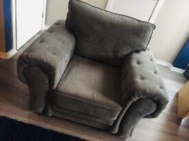 "Armchair Large ""Grey"""