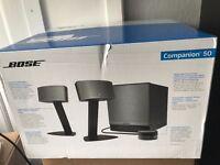 Bose Companion 50 Multimedia Speaker System [BRAND NEW]