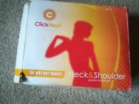 Relaxing Neck & Shoulders Heat Pad Boxed